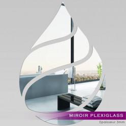 Miroir Plexiglass Acrylique - Goutte Maxi