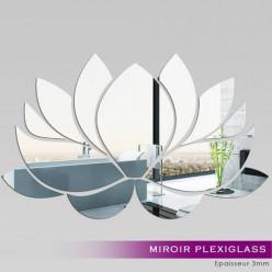 Miroir Plexiglass Acrylique -  Nénuphar