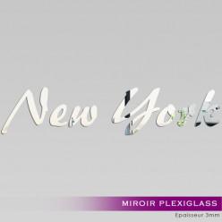 Miroir Plexiglass Acrylique - NY Lettres