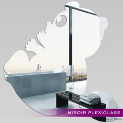 Miroir Plexiglass Acrylique - Panda