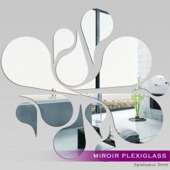 Miroir Plexiglass Acrylique - Plusieures Gouttes