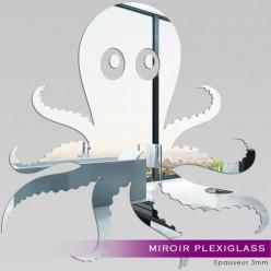 Miroir Plexiglass Acrylique - Poulpe