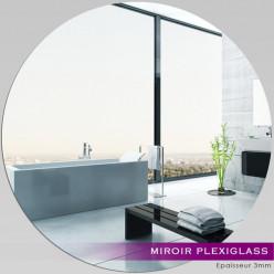 Miroir Plexiglass Acrylique - Rond Maxi