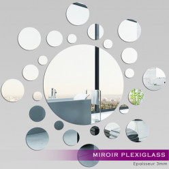 Miroir Plexiglass Acrylique - Spirale 4