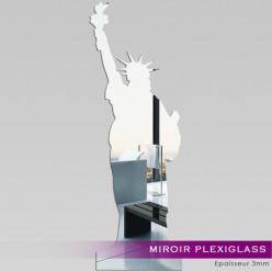 Miroir Plexiglass Acrylique - Statut de la liberté