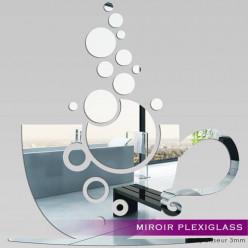 Miroir Plexiglass Acrylique - Tasse à café