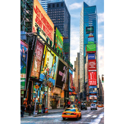 Poster - Affiche time square