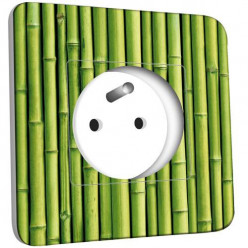 Prise décorée - Bambou Zoom
