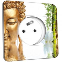 Prise décorée - Bouddha 1