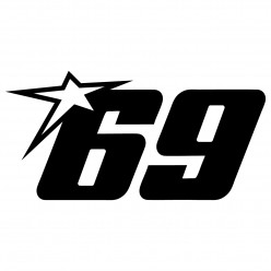Stickers 69 nicky hayden