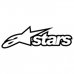Stickers a stars alpinestars