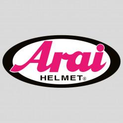 Stickers arai helmet