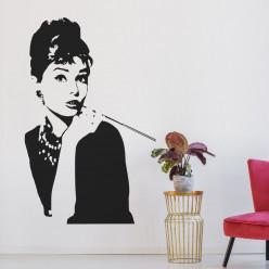 Stickers Audrey Hepburn
