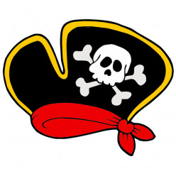 Stickers Chapeau Corsaire