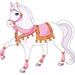 Stickers cheval princier