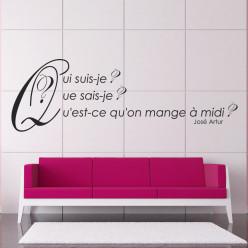 Stickers citation josé artur
