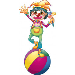 Stickers clown
