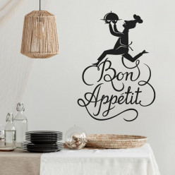 Stickers cuisine bon appétit