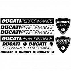 Stickers Ducati performance