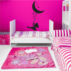 Stickers enfant lune