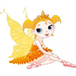 Stickers fée princesse