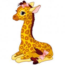 Stickers Girafon