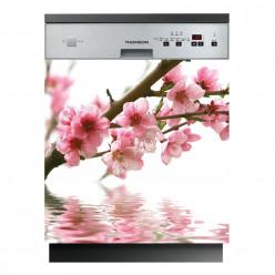 Stickers lave vaisselle fleur
