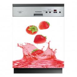Stickers lave vaisselle fraises