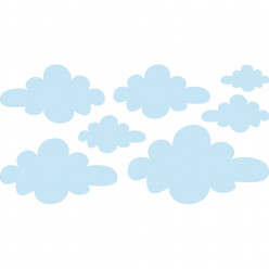 Stickers nuages
