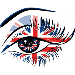 Stickers oeil london