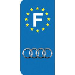 Stickers Plaque Audi