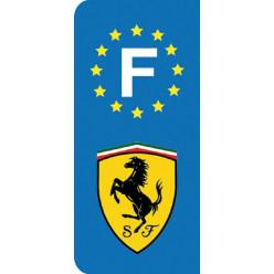 Stickers Plaque Ferrari