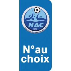 Stickers Plaque Le Havre