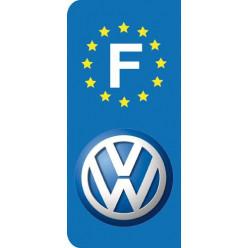 Stickers Plaque Volkswagen