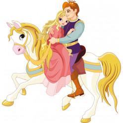 Stickers prince et princesse