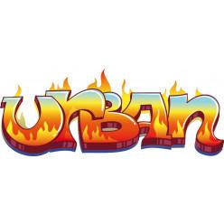Stickers tag urban