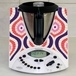 Stickers Thermomix TM 31 Abstrait rond 2