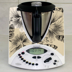 Stickers Thermomix TM 31  Papillons abstrait