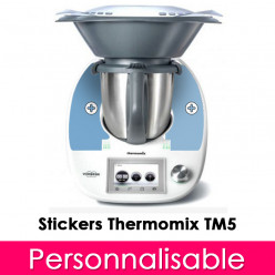 Stickers Thermomix TM 5 Personnalisable