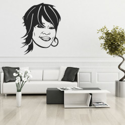 Stickers whitney houston
