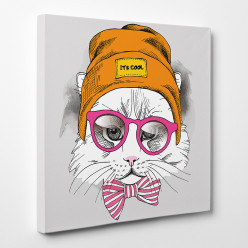 Tableau toile - Chat 7