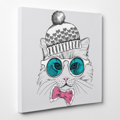 Tableau toile - Chat 8