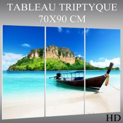 Triptyque Forex Bateau