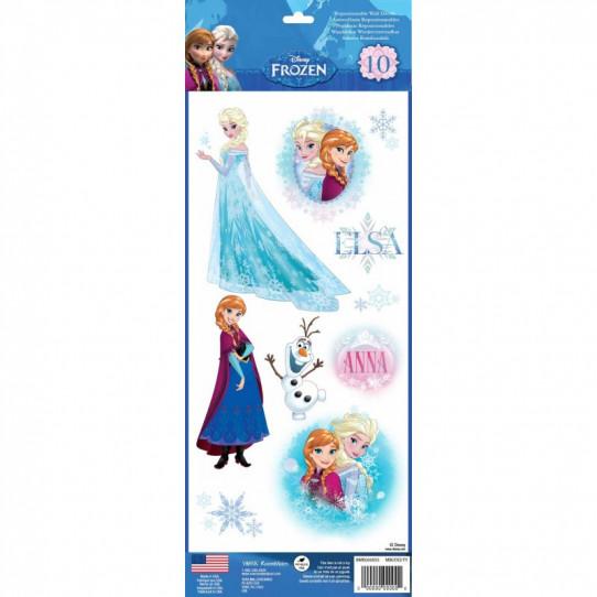 10 Stickers Disney La Reine Des Neiges