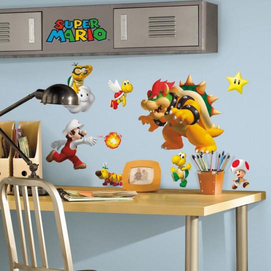 35 Stickers Super Mario Nintendo