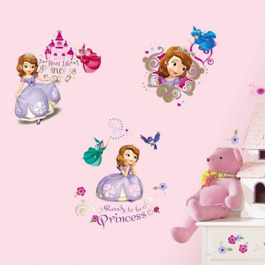 37 Stickers Princesse Sofia Disney