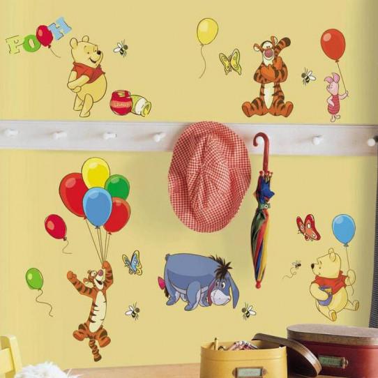 38 Stickers Winnie l'ourson Disney