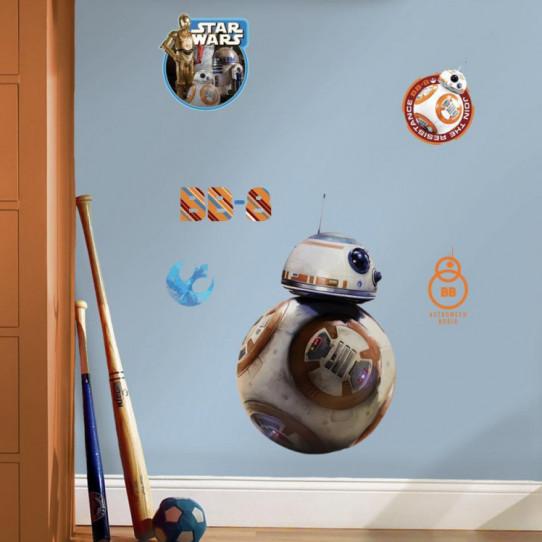 6 Stickers Géant BB-8 Star Wars