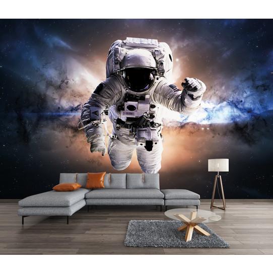 Papier peint espace cosmonaute