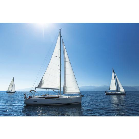 Poster - Affiche mer bateaux